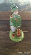 Vadászó Porcelán Gyermek figura