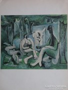 Eredeti két oldalas Picasso litográfia