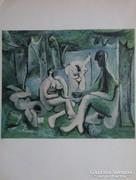 Ez már döfi!- 1-2 oldalas Picasso litográfia