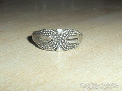 Régi Díszes mint.Tibeti ezüst gyűrű 1.