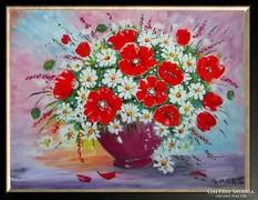 Hepp Natália: Virágcsendélet