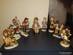 Érdemes megnézni: Hummel gyűjteményből  10 db nagyobb figura