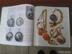 Antik zsebórákról mindent,... német szakkönyv