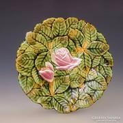 Körmöcbányai rózsás kistányér