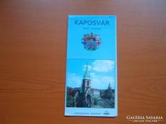 KAPOSVÁR TÉRKÉP 1993