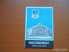 MEZŐBERÉNY TÉRKÉP 1989