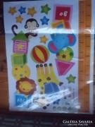 Falikép-matrica-poszter-plakát gyerekszobai 60x45 cm