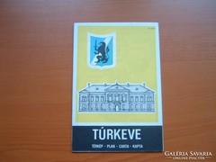 TÚRKEVE TÉRKÉP 1988