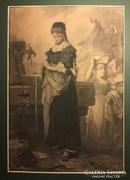 LiezenMayer A. Goethe Faust I. A kútnál,  fametszet 1874