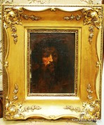 Zsidó férfi portré - XIX. századból
