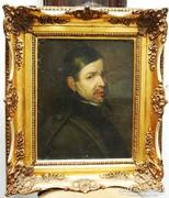 Holland Férfi portréja - XVII. század - olajfestmény