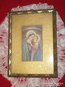 Szentkép , régi szép keretében