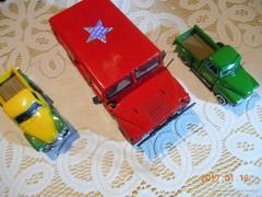 5 db Fém Gyűjtői Autó