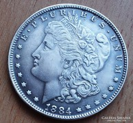 USA MORGAN ONE DOLLAR 1884