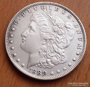 USA MORGAN ONE DOLLAR 1889-S