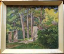 Hranitzky Ilona (1889-?) olajfestménye