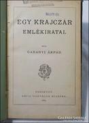Gabányi Árpád : Egy krajczár emlékiratai 1884