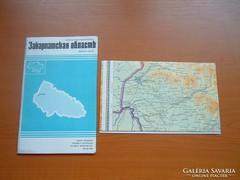 KÁRPÁTALJA TÉRKÉPE VOLT MAGYAR TERÜLETEK 1989 MOSZKVA