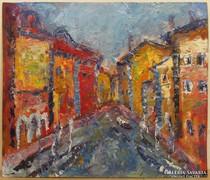 Vén Emil (1902-1984) gyönyörű festmény