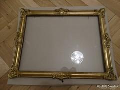 Blondel képkeret üveglappal,35 x 44 cm