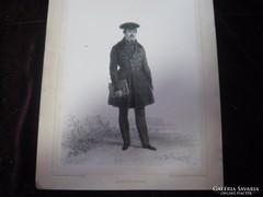 Auguste  De  Sainson francia rézkarc  1848