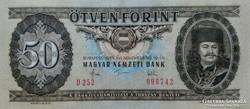 Magyar Népköztársaság 50 Forint 1983 UNC