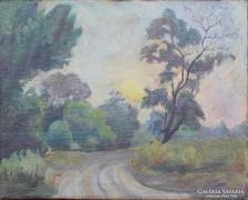 Európai festő, XX. század első fele: Naplemente