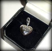 Legjobb anya-szív charm/medál(925)