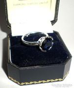 Csodás kék köves gyűrű
