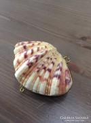 Régi kagylóból készűlt ékszerdoboz