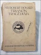 Robert Donald : Trianon tragédiája 1927 Revíziós Liga kiadás