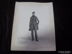 Henri   Malinvaud  francia rézkarc