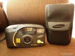 Retró fényképezőgép, eredeti papírjaival, SAMSUNG