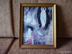 Szűz Mária Jelenés 3D hatású kép
