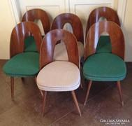 Tátra Nabytok design mid century étkezőszék 6 db