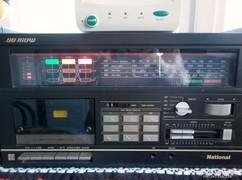 Retro japán NATIONAL asztali rádió (Panasonic elődje)