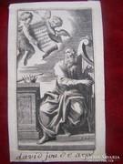 Német művész 1700 körül: Dávid király