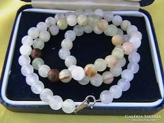 Ritka márványonix gyöngysor