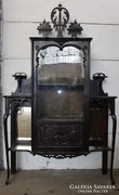 Gyönyörű régi faragott barokk vitrin !