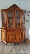 Warrings tálaló vitrines szekrény 160x195x45cm