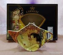 """G.Klimt  """" Anya gyermekével """" üveg filtertartó"""