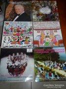 Magyar népzenei nagylemezek eladók
