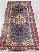Antik szőnyeg , faliszőnyeg 90 x 174 cm.