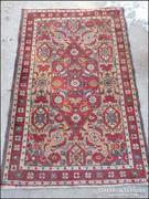 Antik szőnyeg , faliszőnyeg 76 x 118 cm.
