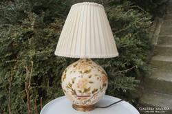 Zsolnay antik lámpa TJM családjellel 1880 körül