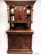 Antik reneszánsz tálaló szekrény