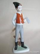 Drasche porcelán favágó fiú