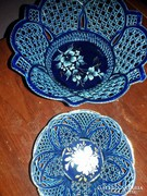 Gyönyőrű csipkeveretes porcelánok