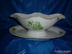 Meissen porcelán szószós kiöntő