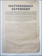 Fegyverszüneti egyezmény 1945 Ideiglenes kormány